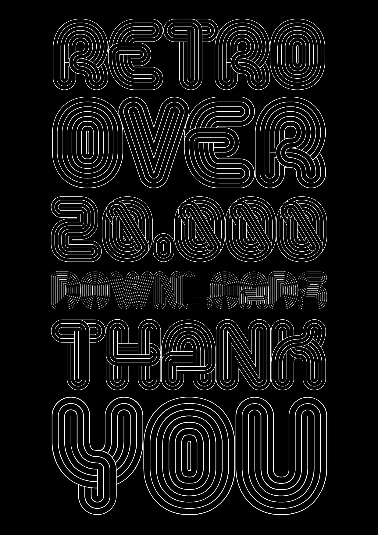Alt Retro Black font