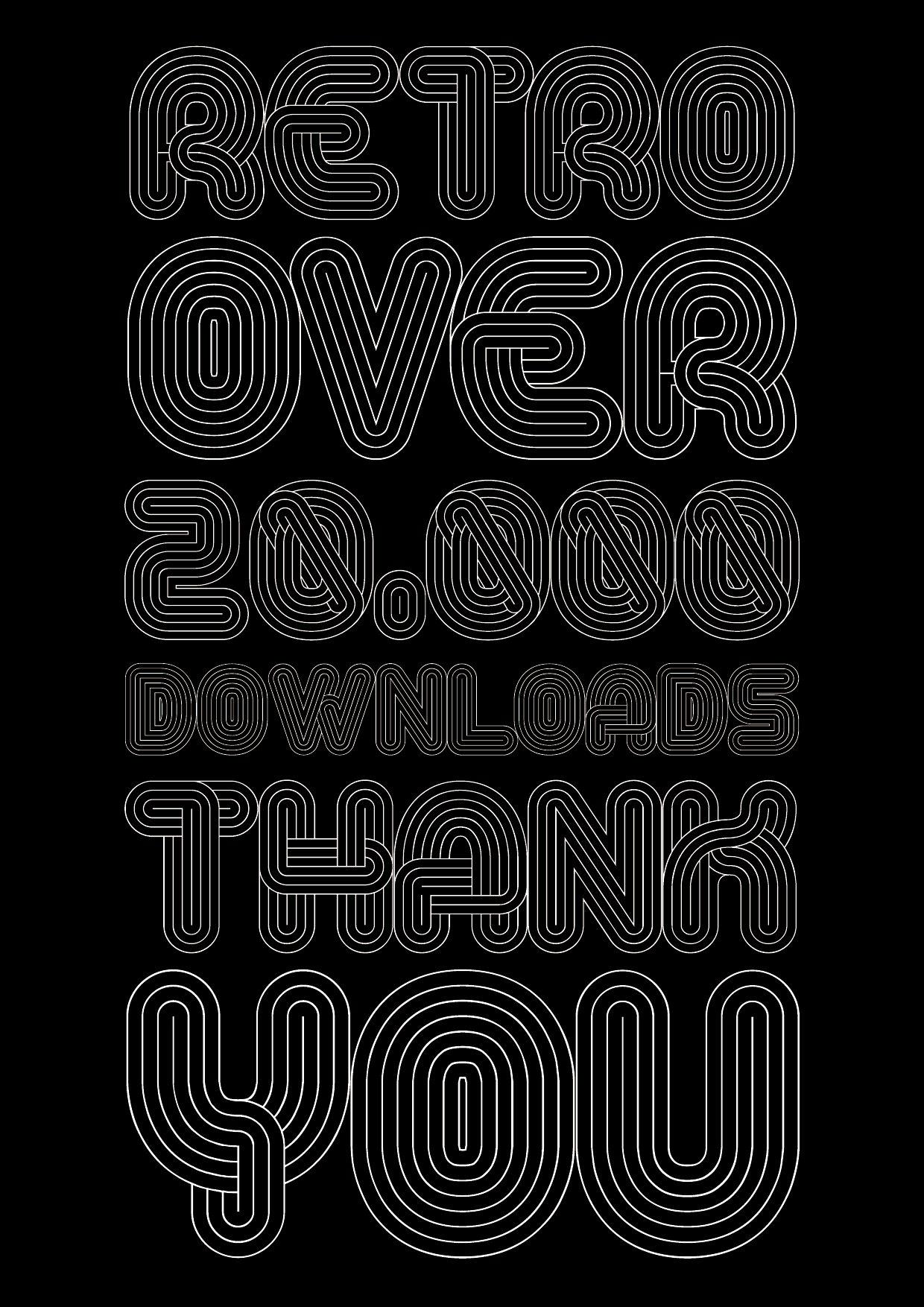 Alt Retro Thin font