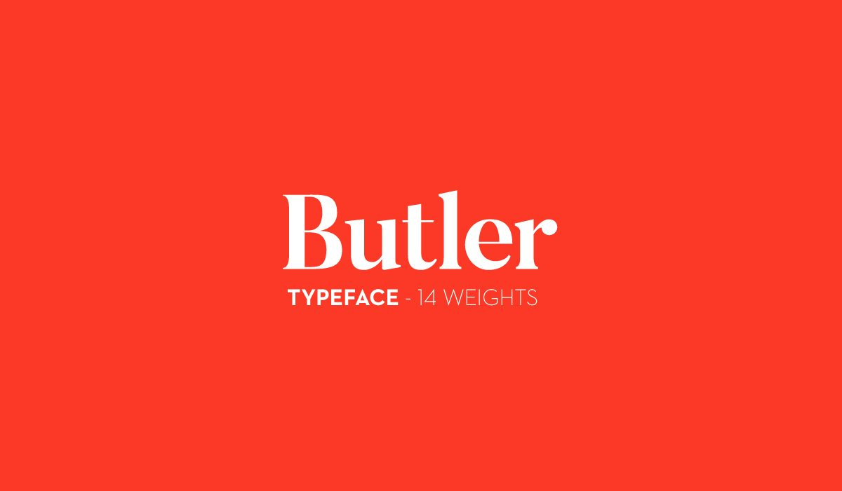 ButlerStencil-UltraLight font