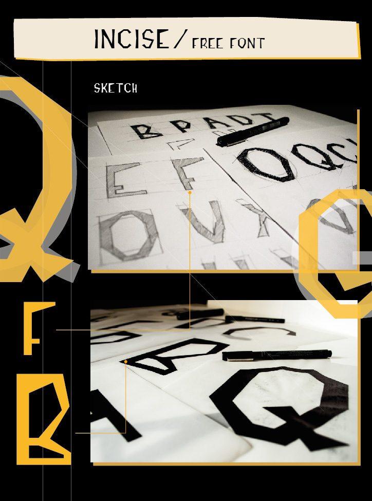 INCISE-Medium font