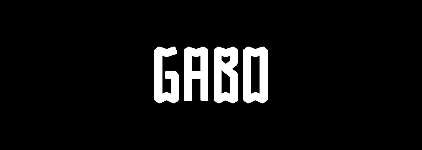 GABO font