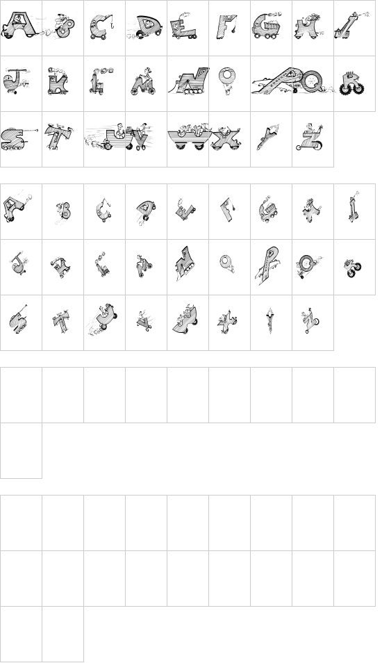 Drivers font