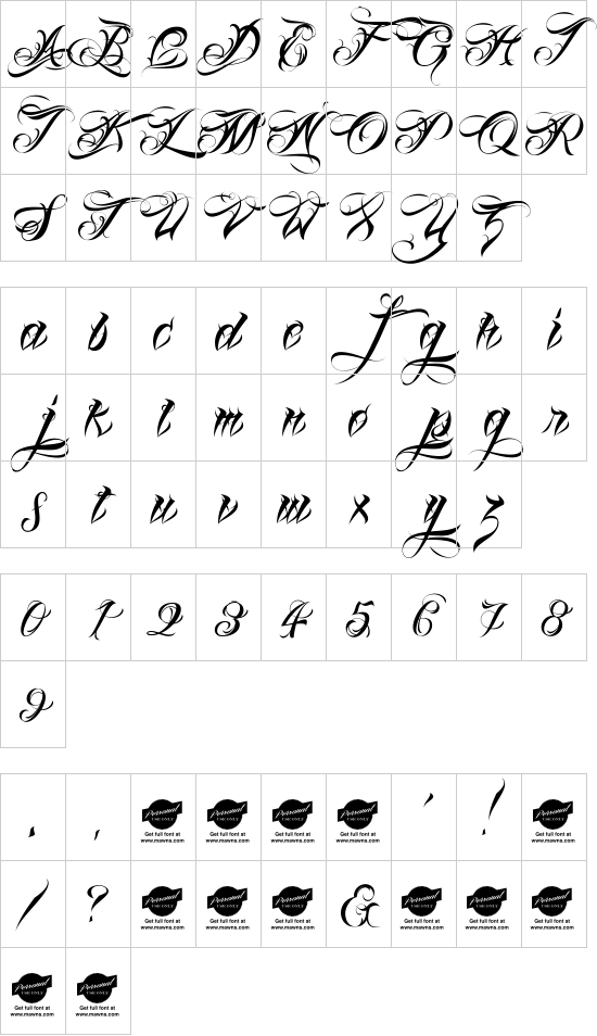 Lina Script font