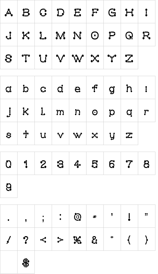 Matchstick regular font