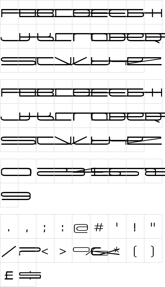 Univox font