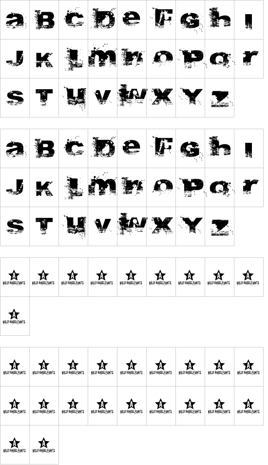 A Bite font
