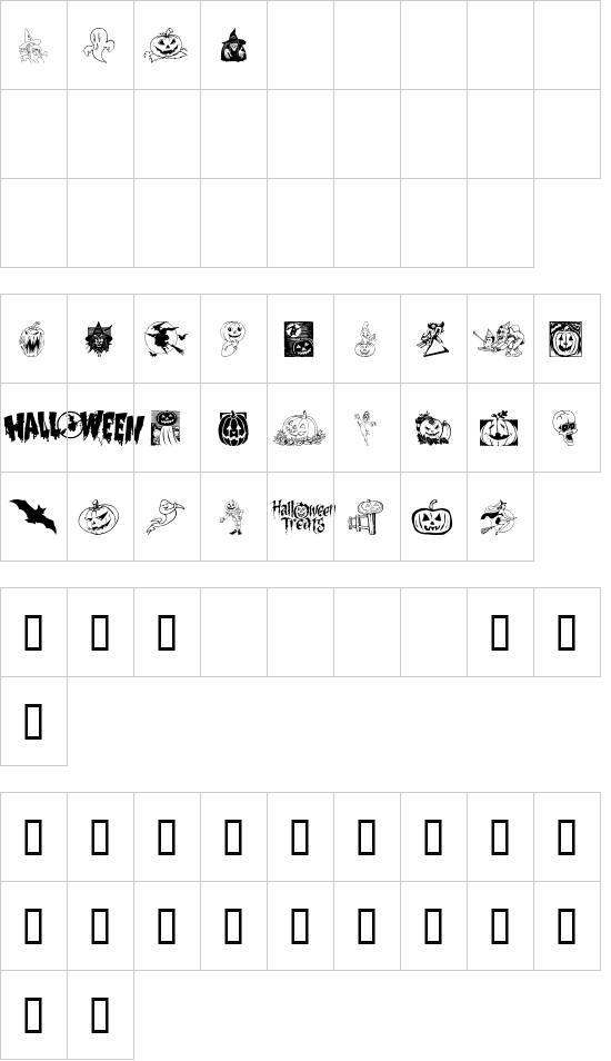 Helloween 2 font
