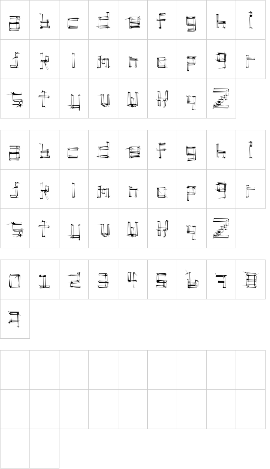 Stickchop font