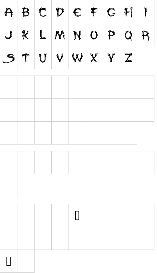 PALEOS font
