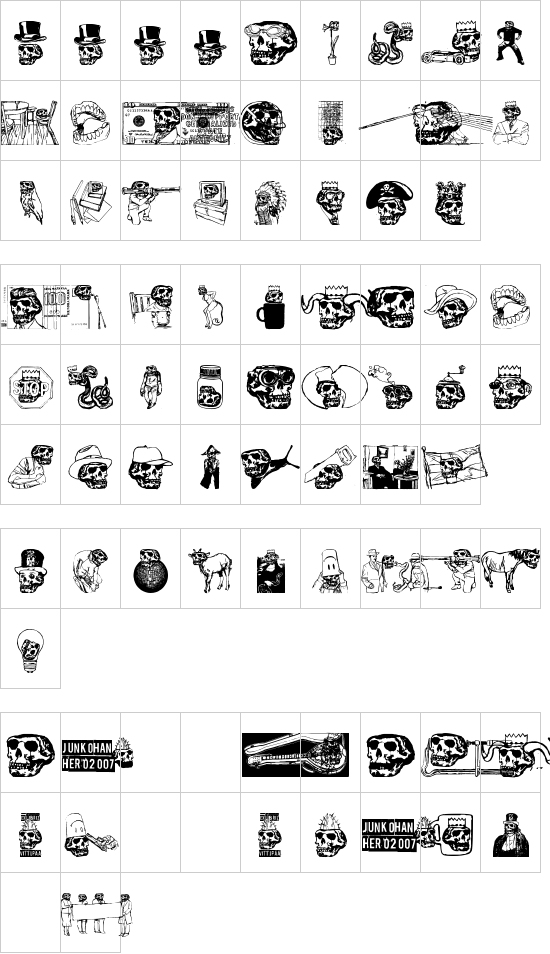 Vieraskirjan Peto font