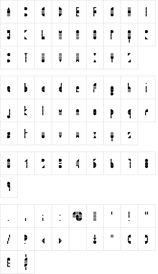 Modulo3 font