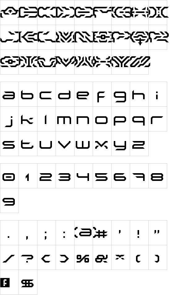Nakki Ldr font