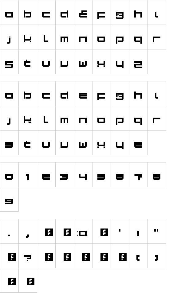 Sampa LDR font
