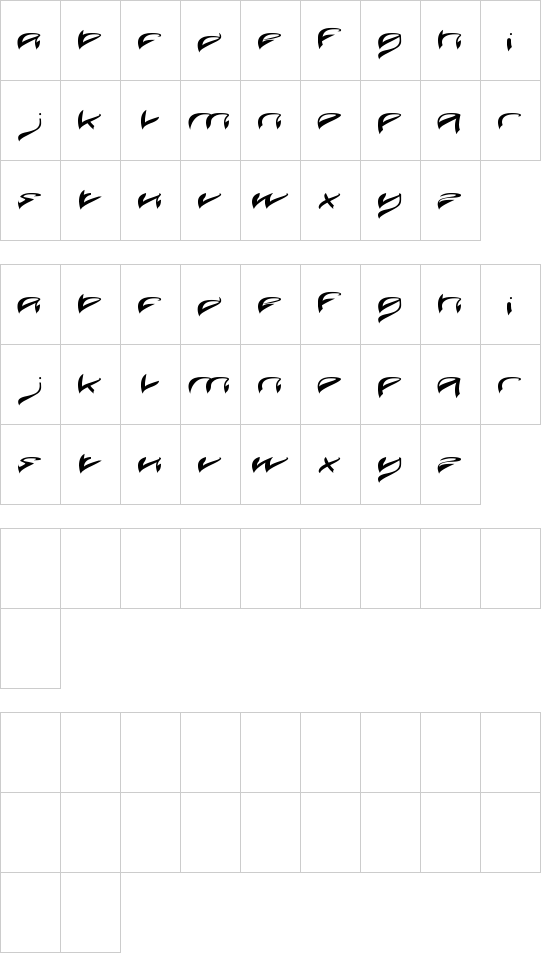 JAVA ISLAND font