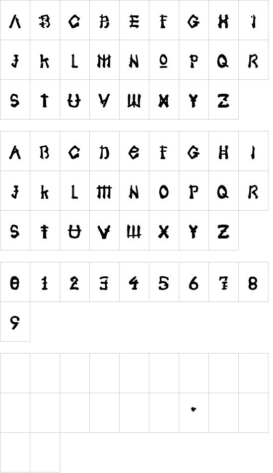 Samoerai font