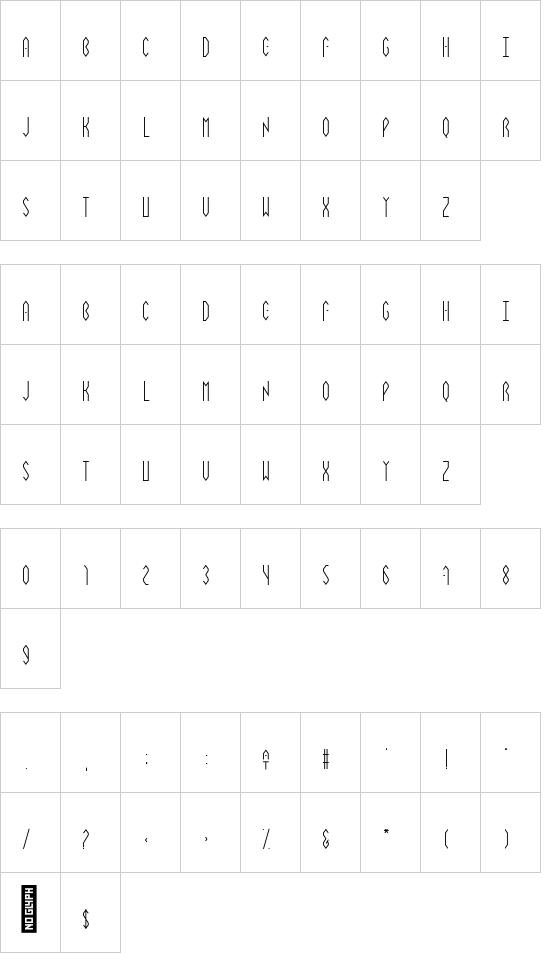 Vibrey_smallcaps off font