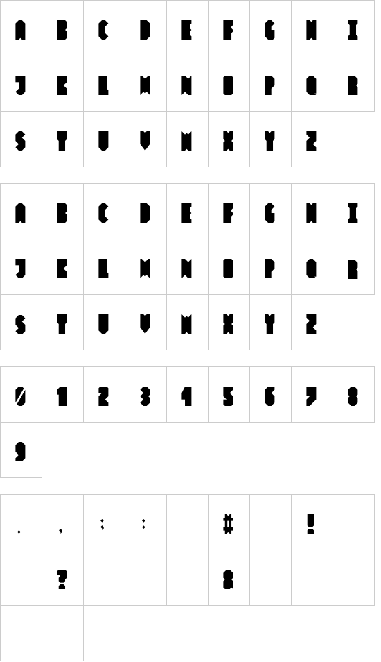 HashtagBasic font