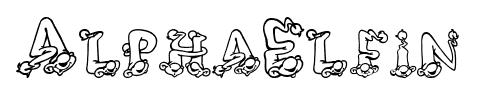 AlphaElfin font