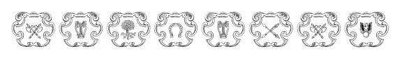 Armorial font
