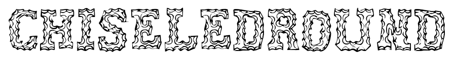 CHISELEDROUND font