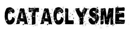 Cataclysme font