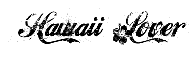 Hawaii Lover font