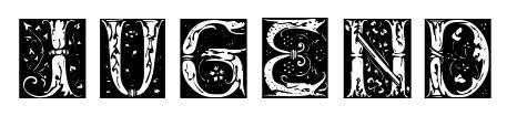 JUGEND font