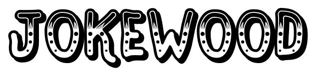 Jokewood font