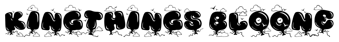 Kingthings Bloone font