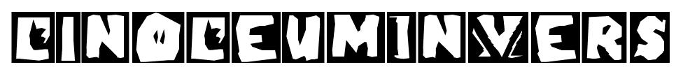 LinoLeumInvers font