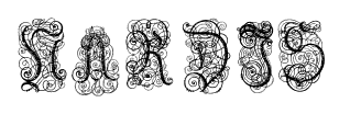 NARDIS font