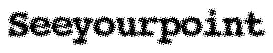 Seeyourpoint font