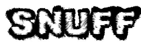 Snuff font
