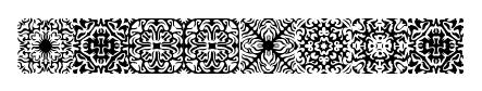 Symmetry font