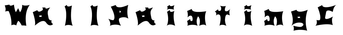 WallPaintingC font