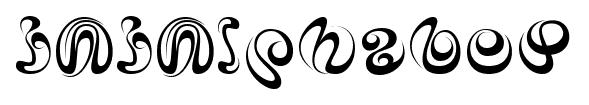 iAiAlphabet font