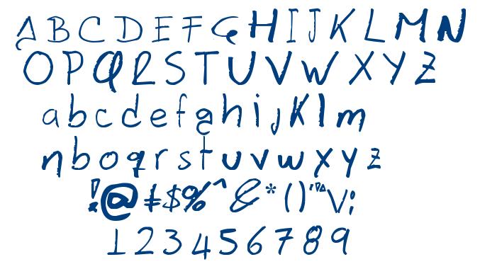 Davidcito font