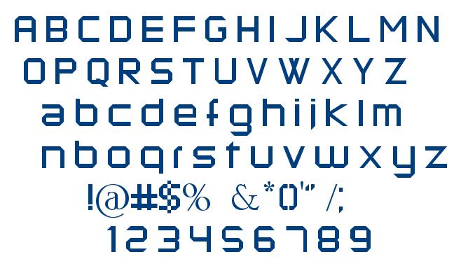 Kermesse font