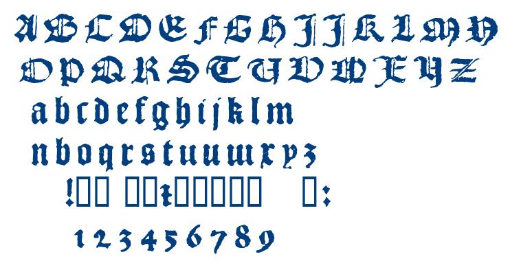 1492 Quadrata font