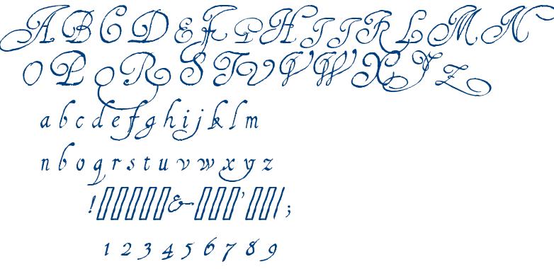 1610 Cancellaresca Lim font