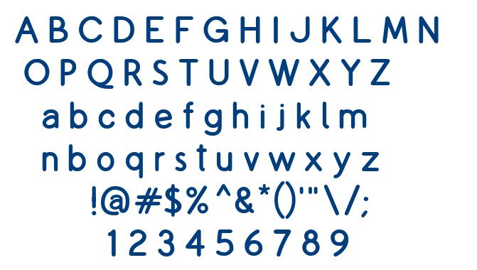 Copilme font