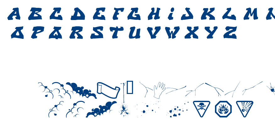 CRY one font
