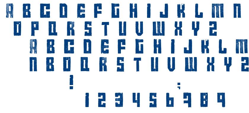 Calame font
