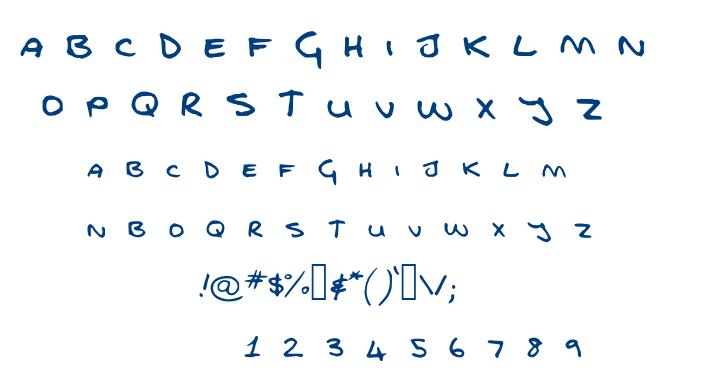 FG fontfull font