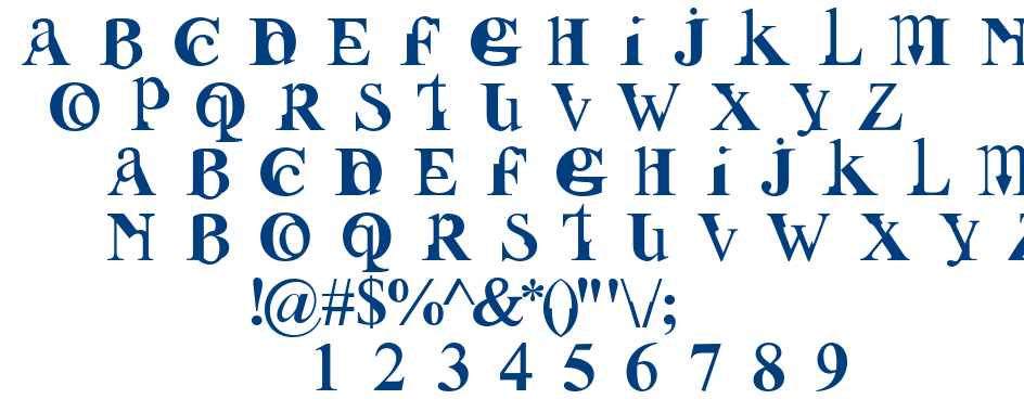 Fusion font