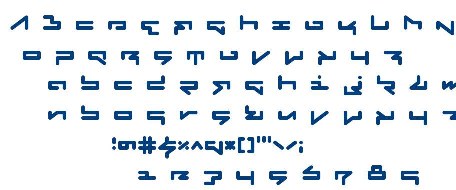 Fabricate font