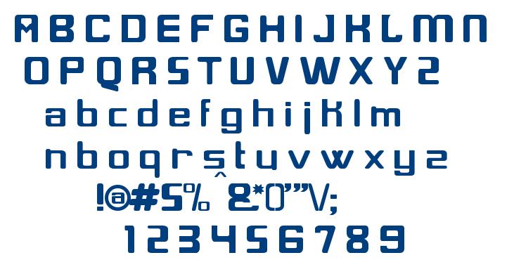 Glix font
