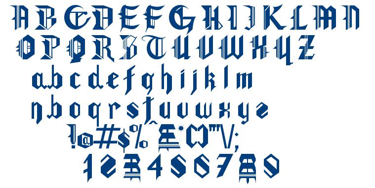 Gotham Lullaby font