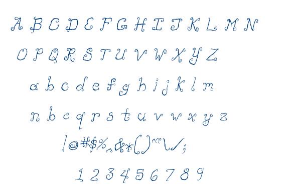 Like Cockatoos font