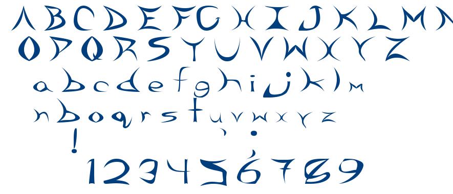 Reef Imps font